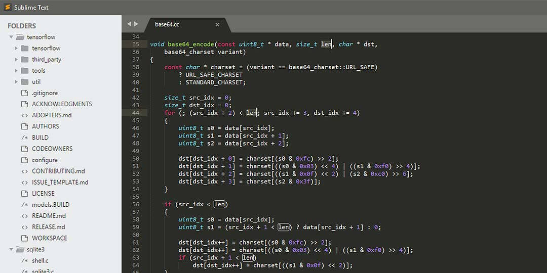 sublime text ide for html