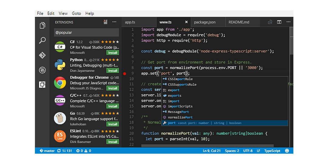 visual studio code best ide for c++