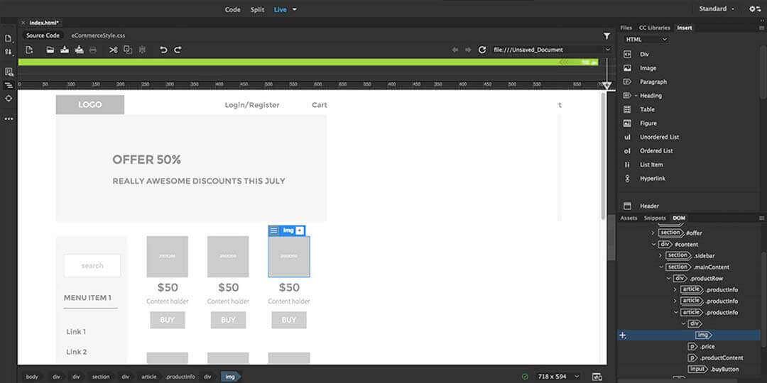adobe dreamweaver cc best ide for html