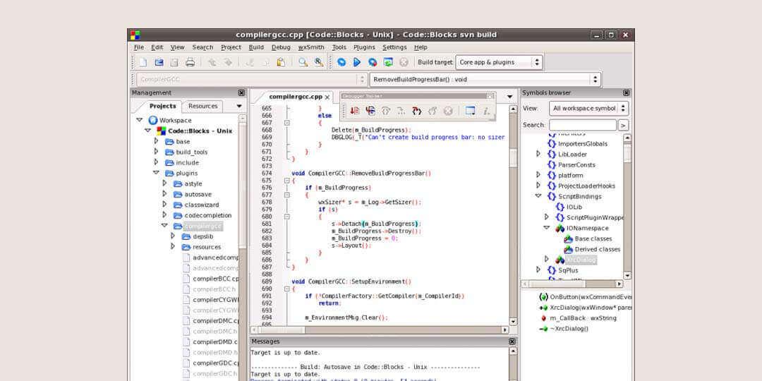 code blocks best ide for c++