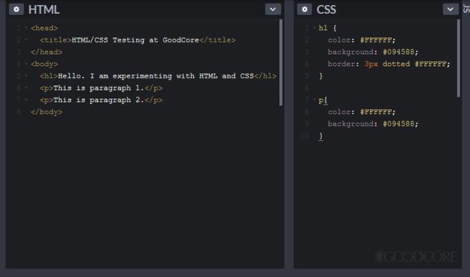 html & css input