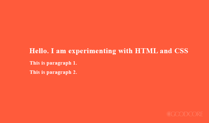 html & css testing