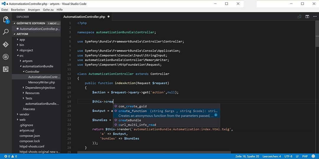 visual studio code ide for c++