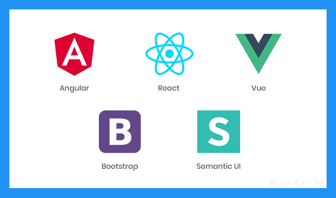 Popular front end frameworks