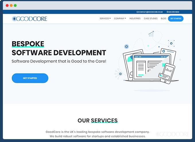 example business website