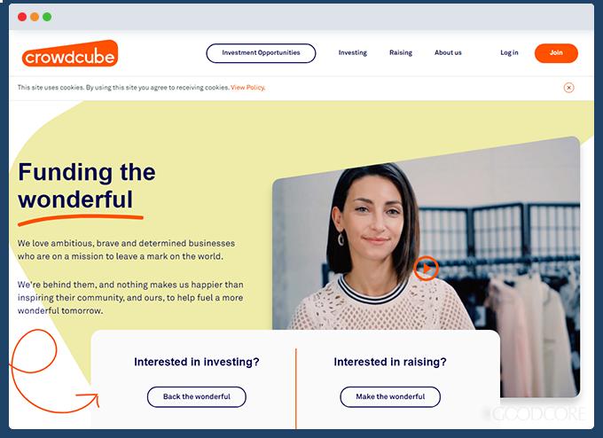 example crowdfunding website