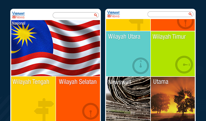 corporate news mobile app developed for tnb by goodcore