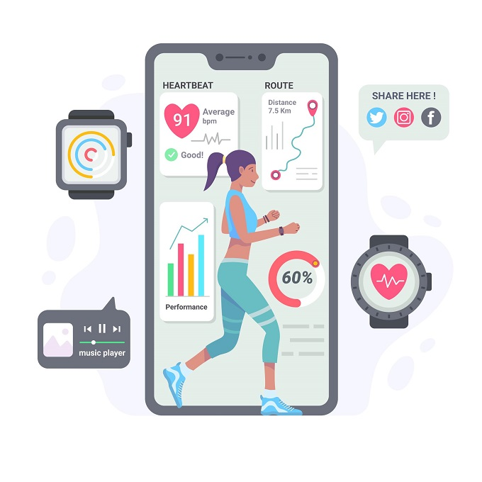additional features of a fitness app