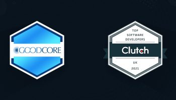 goodcore named top developer uk clutch 2021