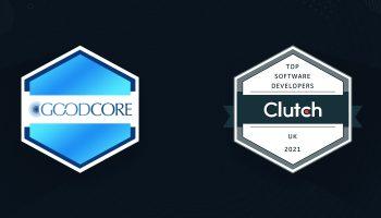 goodcore named top developer uk clutch 2021